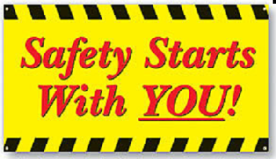 Safety should always be an integral part for every activity